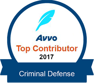 AVVO Top Contributor in Criminal Defense